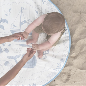MODERN BABY PLAYMAT - CORNISH SEA