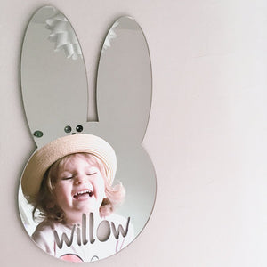 PERSONALISED BUNNY MIRROR