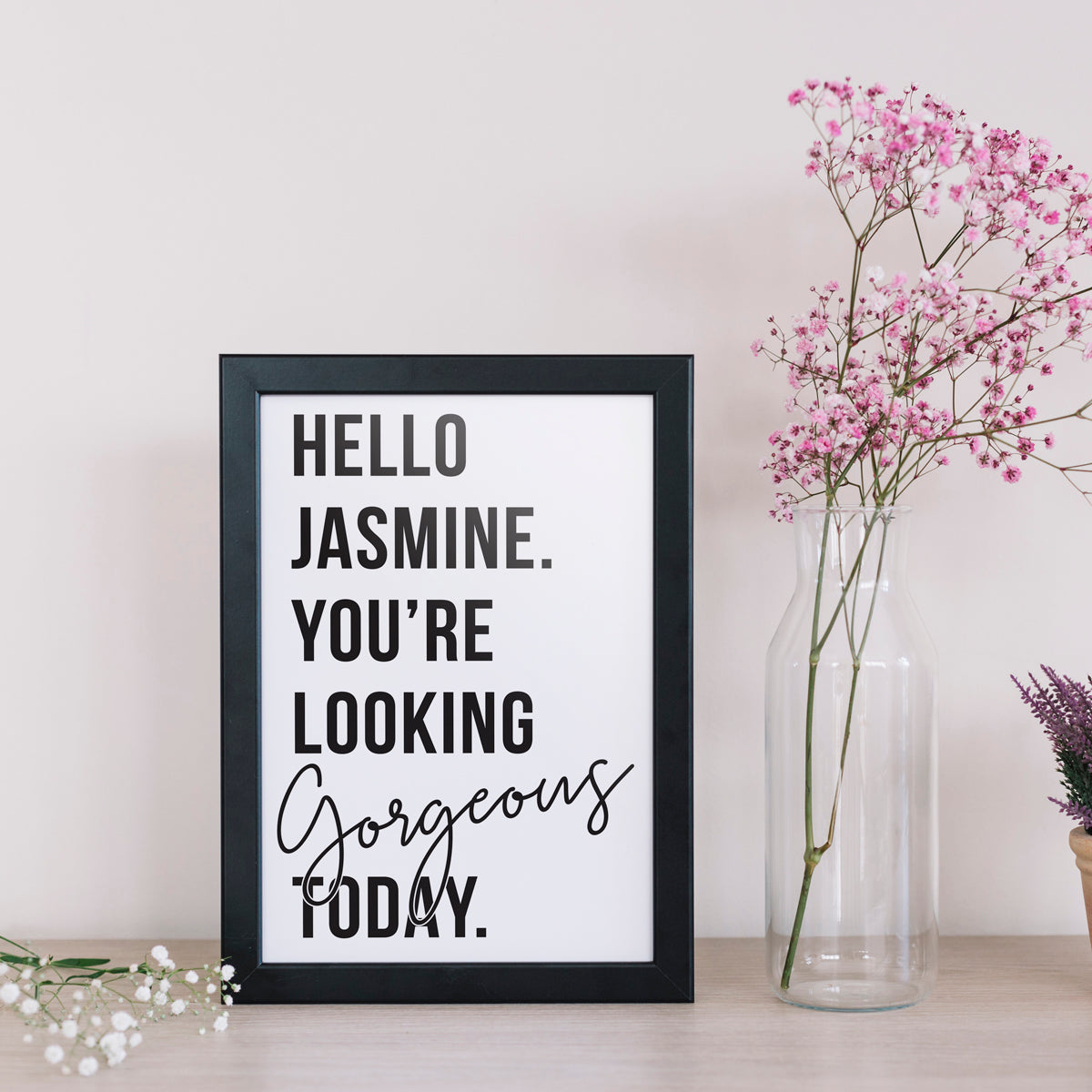 PERSONALISED GORGEOUS PRINT