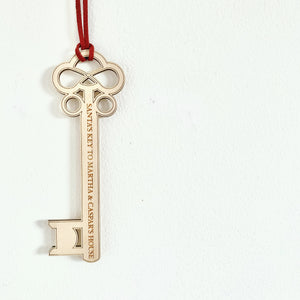 PERSONALISED SANTA'S KEY KEEPSAKE