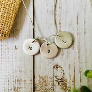 PERSONALISED SILVER COINS NECKLACE