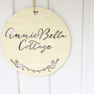 SUMMER HOUSE PLAQUES