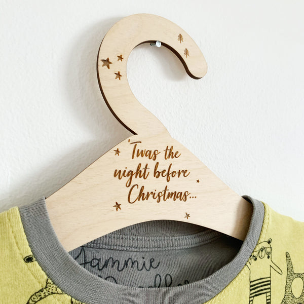 'TWAS THE NIGHT BEFORE CHRISTMAS' MINI HANGER