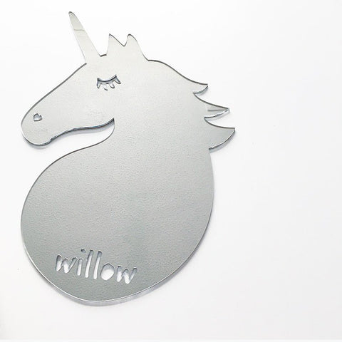 PERSONALISED UNICORN MIRROR