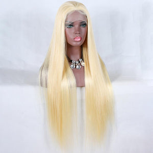 613 blonde Straight Lace wig