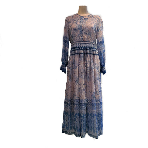 Long printed dress - BAZIS