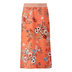 Skirt in flowers - BAZIS