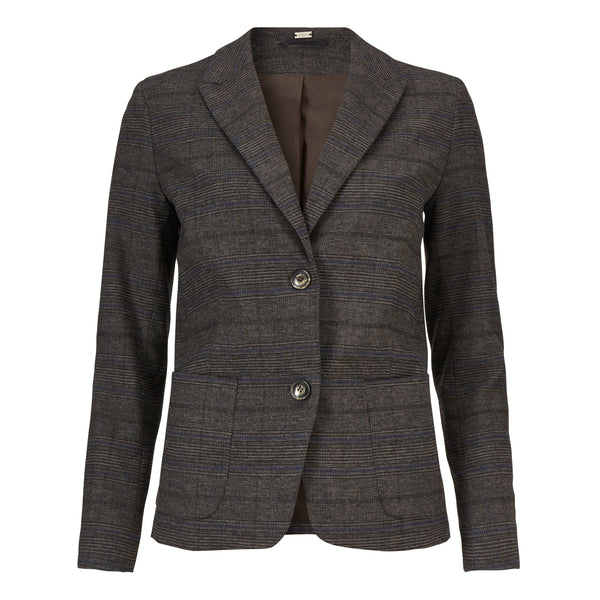 Checked blazer - BAZIS