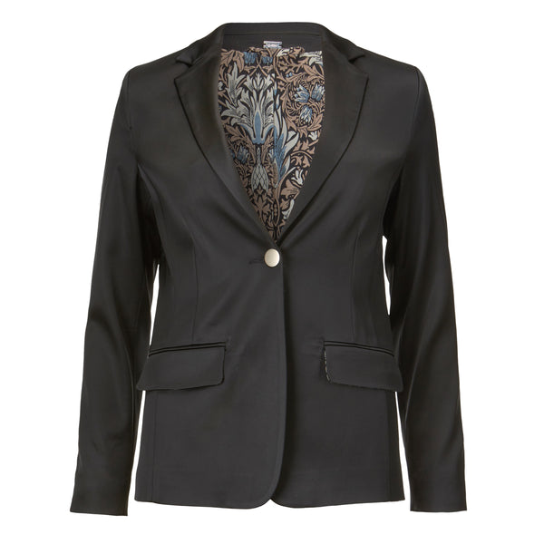Shinny stretch blazer - BAZIS