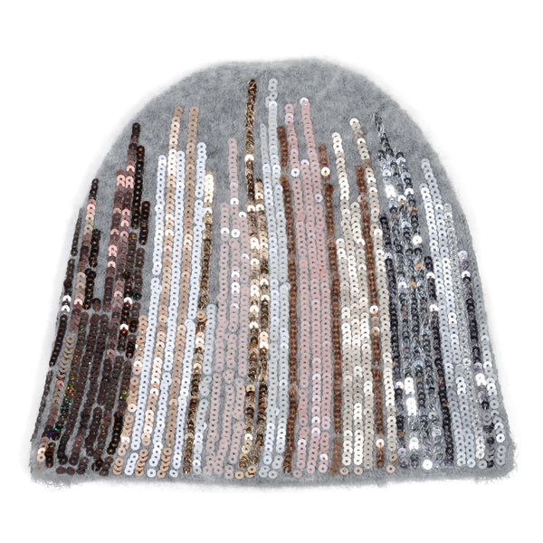 Hood with sequins - BAZIS