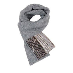 Scarf with sequins - BAZIS