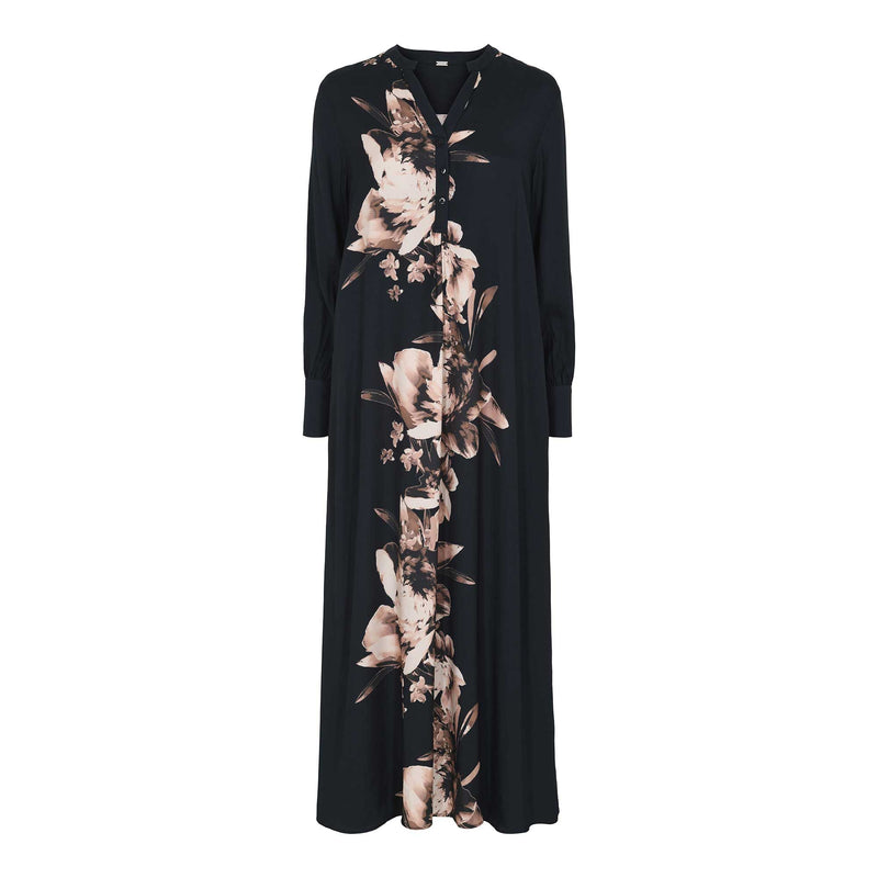 Anika long shirt dress