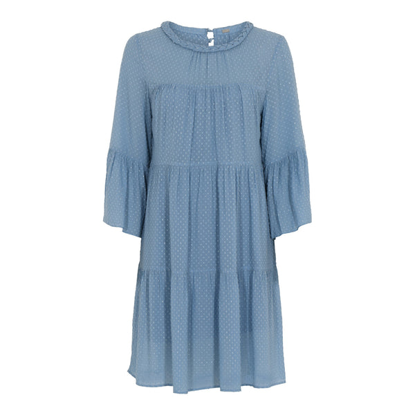 Alva short frill dress - BAZIS