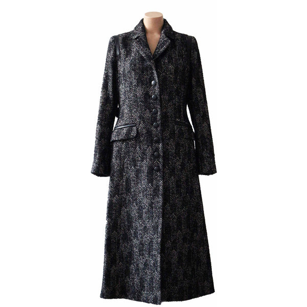 Long classic coat - BAZIS