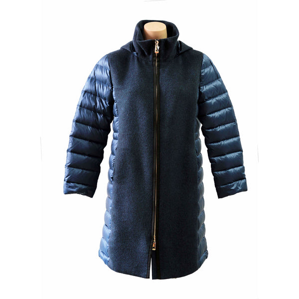 Long combi coat - BAZIS