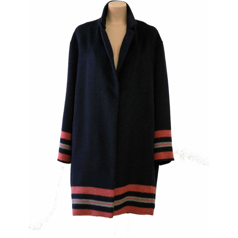 Coat with stripes - BAZIS