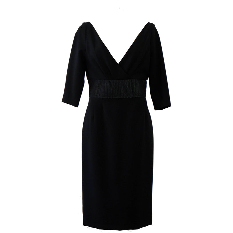 V neck dress - BAZIS