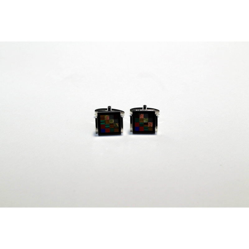 Check design cufflinks - BAZIS