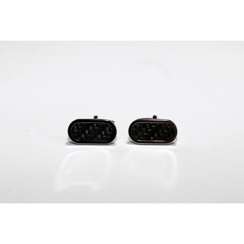 Carbon cufflinks - BAZIS