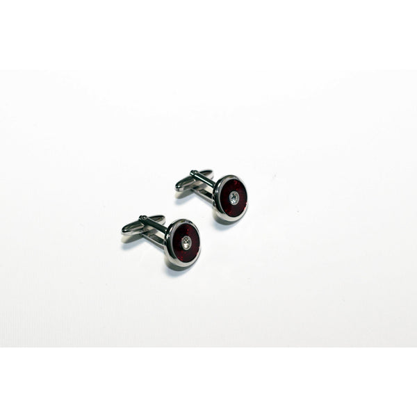Red cufflinks - BAZIS