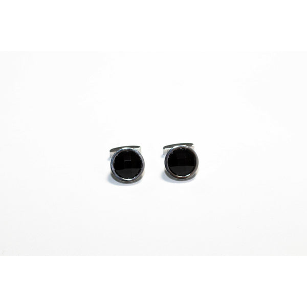 Black cufflinks - BAZIS