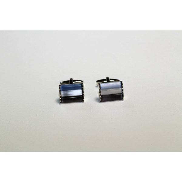 Blue cufflinks - BAZIS