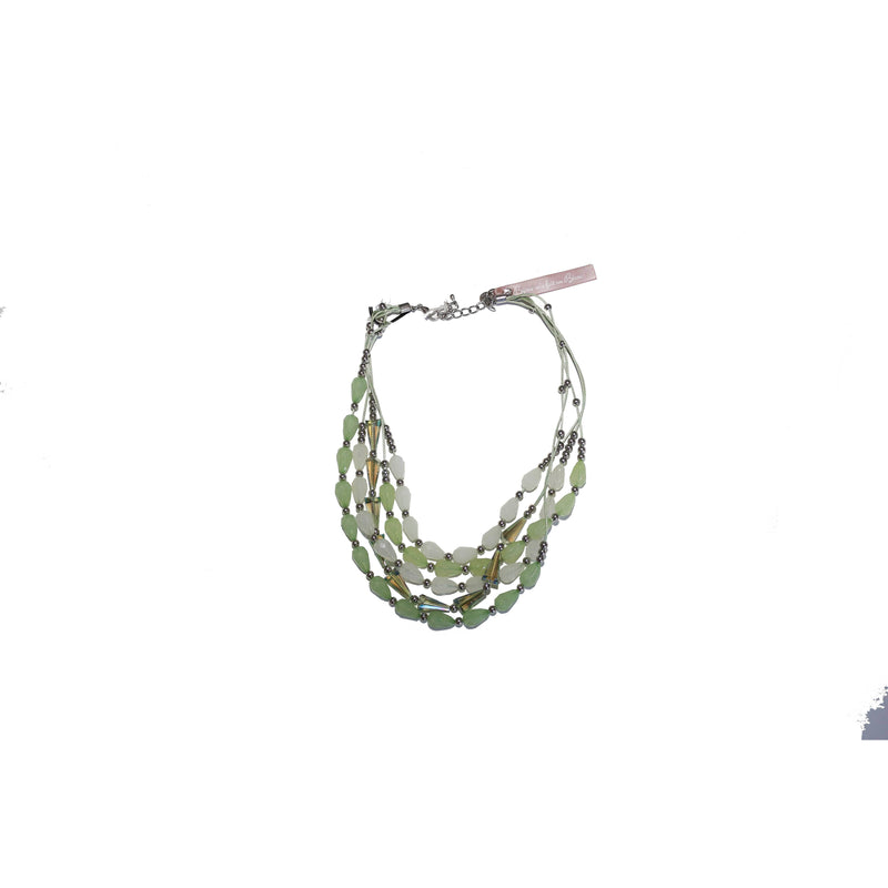 Green necklace - BAZIS