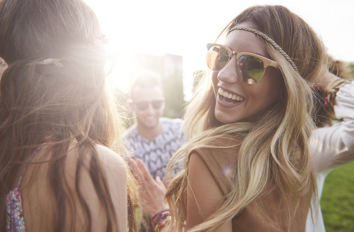Bohemian-Bound Beauty:  Rock the Hottest Festival-fab Looks Using No-Melt Airbrush Makeup