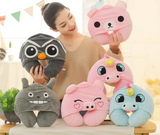Cute Cartoon Shaped Travel Pillows - Strong Store