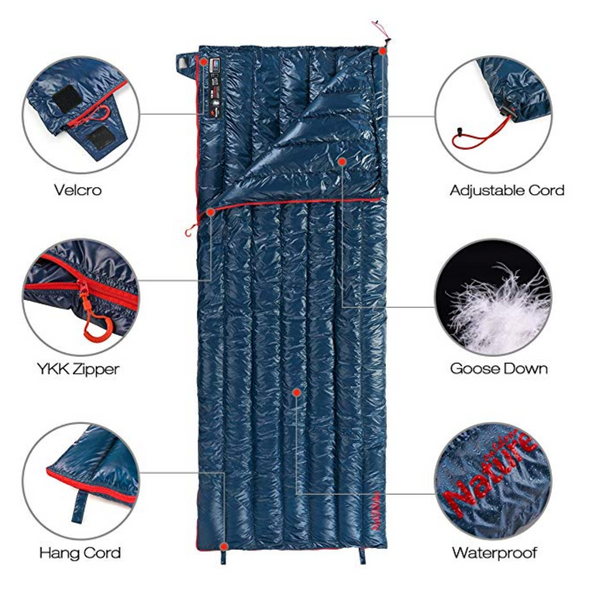 Ultralight Goose Down Sleeping Bag - Strong Store