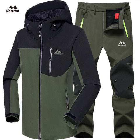 Set jacket and trouser hiking waterproof - Strong Store