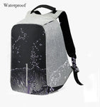 Anti-theft backpack for safe travel - Strong Store