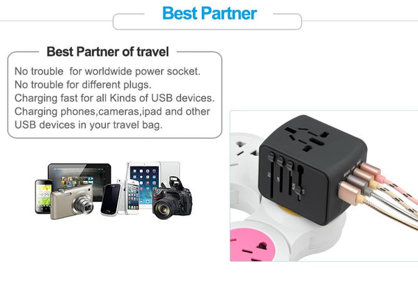 International Plug Adapter Safety System - Strong Store