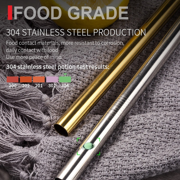 Reusable Stainless Steel Straw - Strong Store
