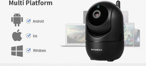 INQMEGA Auto tracking | 720P | IR | 360° Security Camera