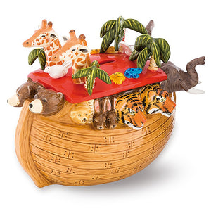 "Halcyon Days ""Noah's Ark"" Money Box"