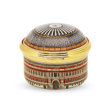 "Load image into Gallery viewer, Halcyon Days ""Royal Albert Hall"" Enamel Box"