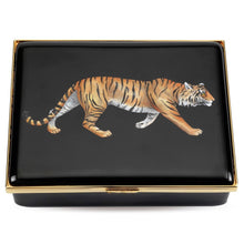 "Load image into Gallery viewer, Halcyon Days ""Tiger Prestige"" Enamel Box"