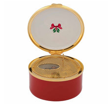 "Load image into Gallery viewer, Halcyon Days ""O Come All Ye Faithful - Vintage Christmas Tree"" Musical Box"
