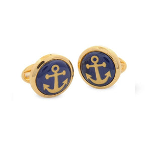 Halcyon Days Anchor Cufflinks