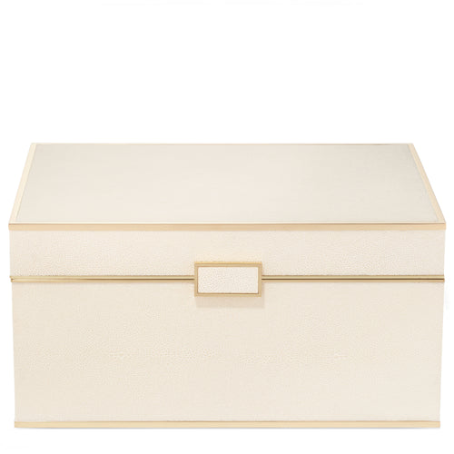 AERIN Classic Shagreen Luxe Jewelry Box