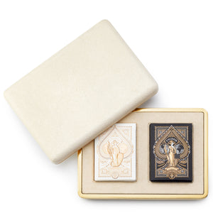 AERIN Shagreen Card Case - CREAM