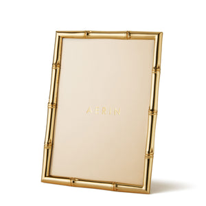 AERIN Mayotte Bamboo 4x6 Frame - Gold
