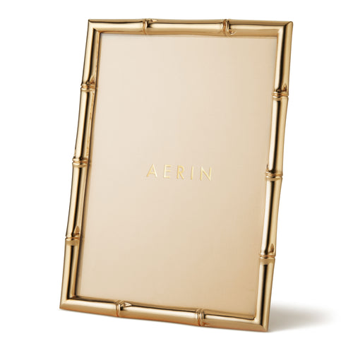 AERIN Mayotte Bamboo 5x7 Frame - Gold