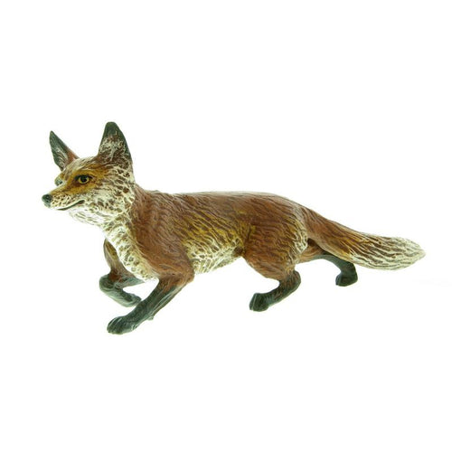 Fox Curious Vienna Bronze Figurine