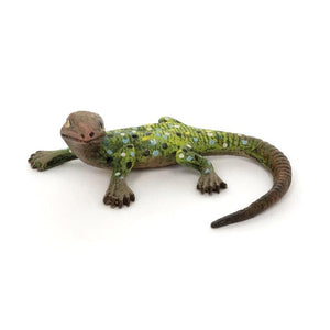 Lizard Small / Tail Turned -Head Left Vienna Bronze Figurine