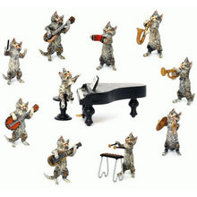 Load image into Gallery viewer, Cats Orchestra (10 Pcs.) Vienna Bronze Figurine