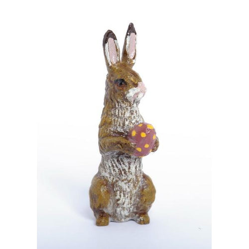Bunny With Easter Egg Vienna Bronze Figurine