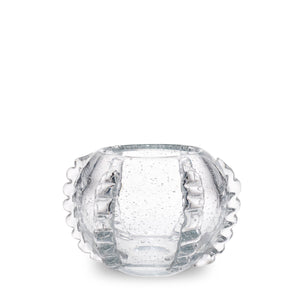 AERIN Lattea Small Vase - Clear