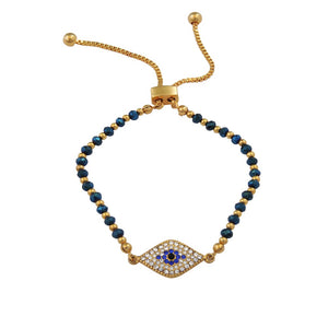 "Halcyon Days ""Pave Evil Eye"" Bracelet"